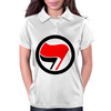 Anti-Fascist flags Womens Polo
