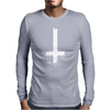 Antichrist Cross Mens Long Sleeve T-Shirt