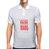 Any Real Racer Mens Polo