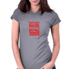 Any Real Racer Womens Fitted T-Shirt