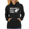 Anything Unrelated To Elephants Is Irrelephant Womens Hoodie