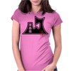 AOMORI Japanese Prefecture Design Womens Fitted T-Shirt