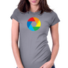 Aperture col Womens Fitted T-Shirt