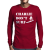 Apocalypse Now Charlie Don't Surf Mens Long Sleeve T-Shirt