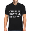 Apocalypse Now Charlie Don't Surf Mens Polo