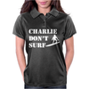 Apocalypse Now Charlie Don't Surf Womens Polo