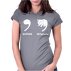 Apostrophe Catastrophe Womens Fitted T-Shirt