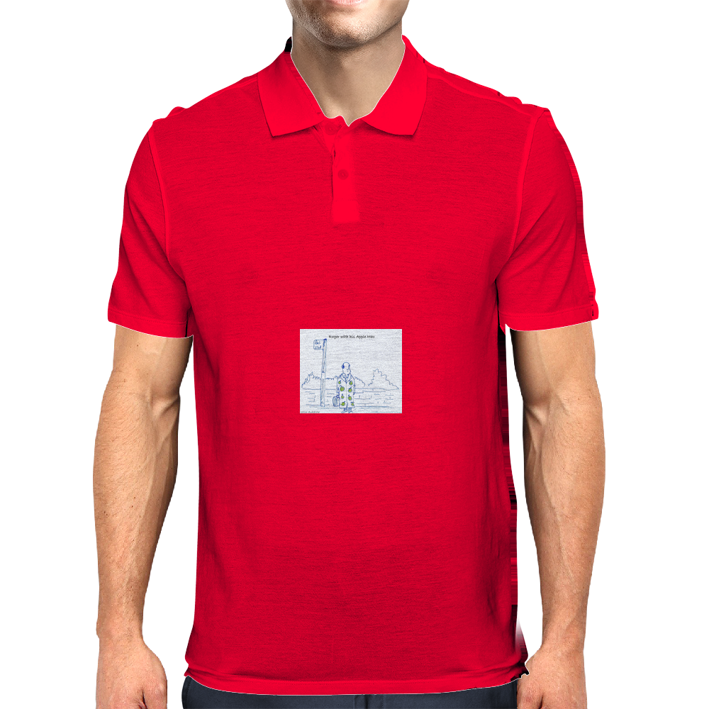 Apple Mac Mens Polo