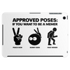 Approved Poses if you want to be a Memer Tablet