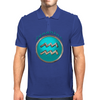 Aquarius Zodiac Sign Mens Polo