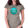 Aquarius Zodiac Sign Womens Fitted T-Shirt