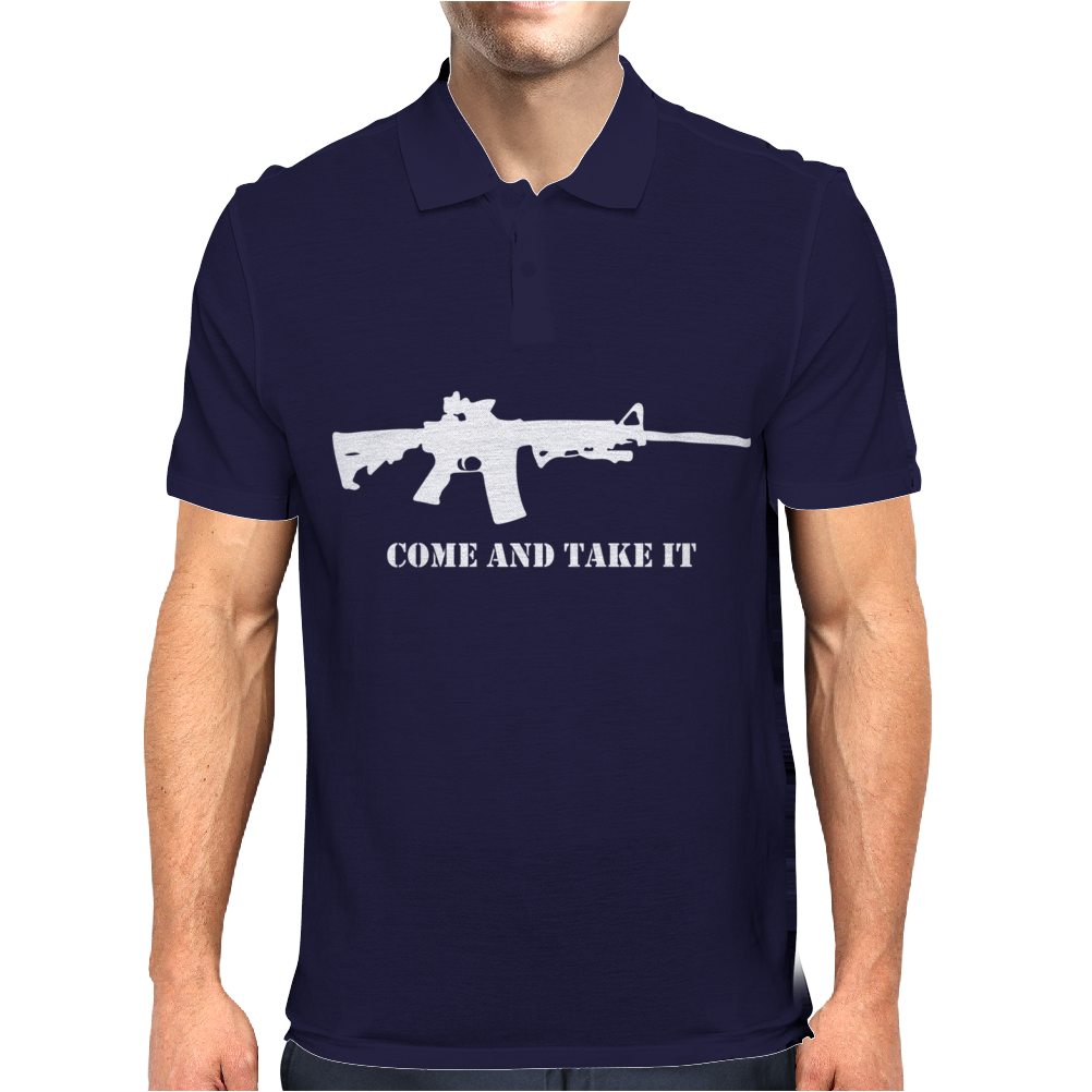 AR-15 Come And Take It Mens Polo