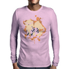 Arcanine cutout (Pokemon) Mens Long Sleeve T-Shirt