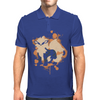 Arcanine cutout (Pokemon) Mens Polo