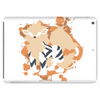 Arcanine cutout (Pokemon) Tablet (horizontal)