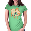 Arcanine cutout (Pokemon) Womens Fitted T-Shirt