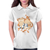 Arcanine cutout (Pokemon) Womens Polo