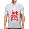 Arch Enemy Fuck The Rules Mens Polo