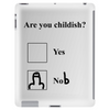 Are you childish? Tablet (vertical)