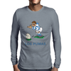 Argentina Rugby Kicker World Cup Mens Long Sleeve T-Shirt