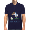 Argentina Rugby Kicker World Cup Mens Polo