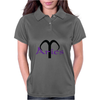 Aries in purple Womens Polo