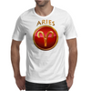 Aries Zodiac Sign Mens T-Shirt