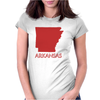 ARKANSAS Womens Fitted T-Shirt