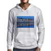 Arles France french city river Rhône blue hour evening Mens Hoodie
