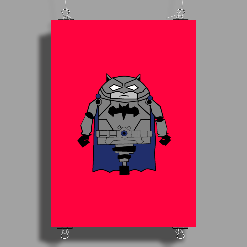 Armored Batman Poster Print (Portrait)