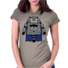 Armored Batman Womens Fitted T-Shirt
