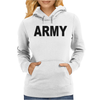 ARMY - CLASSIC Womens Hoodie