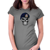Army Skull Funny Defensor Womens Fitted T-Shirt