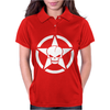 Army Skull Womens Polo