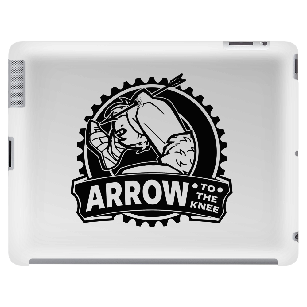 Arrow To The Knee Tablet (horizontal)