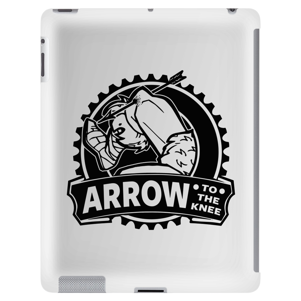 Arrow To The Knee Tablet (vertical)