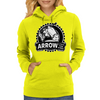 Arrow To The Knee Womens Hoodie