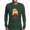ARSENAL MINIONS Movie Despicable Me Football Funny Cool Mens Long Sleeve T-Shirt