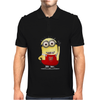 ARSENAL MINIONS Movie Despicable Me Football Funny Cool Mens Polo