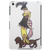 ART DECO  1920'S GIRLWITH DOG Tablet (vertical)