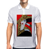 ART DECO  ANIMAL PRINT Mens Polo