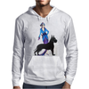 ART DECO, FLAPPER AND DOG Mens Hoodie