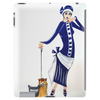 ART DECO  FLAPPER AND DOG Tablet (vertical)