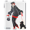 ART DECO  FLAPPER WITH DOG Tablet (vertical)