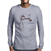 Art Hand And Compass Mens Long Sleeve T-Shirt