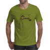 Art Hand And Compass Mens T-Shirt