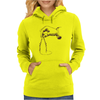 Art Hand And Compass Womens Hoodie