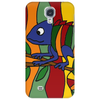 Artistic Colorful Chameleon Original Art Phone Case