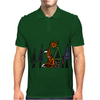 Artistic Red Fox in Woods Original Artwork Mens Polo