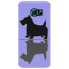 Artistic Scottish Terrier Reflections Art Phone Case